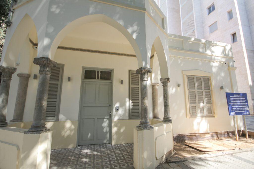 בית שיח נשים תמונת הבית מבחוץ