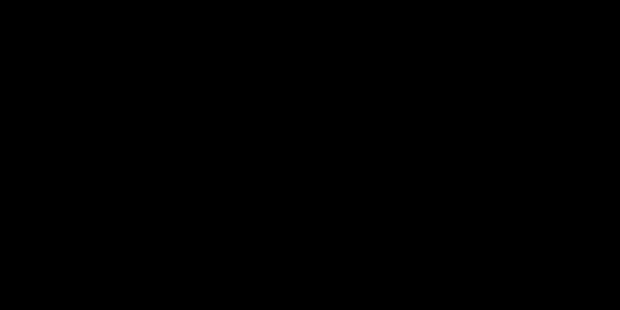 קו קישוט מפריד שחור מסולסל